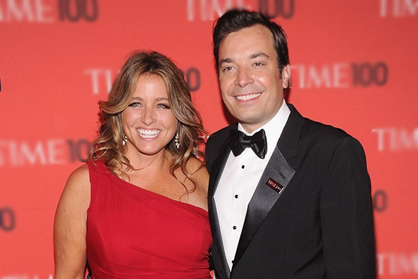 Jimmy Fallon e Nancy Juvonen (Foto: Getty Images)