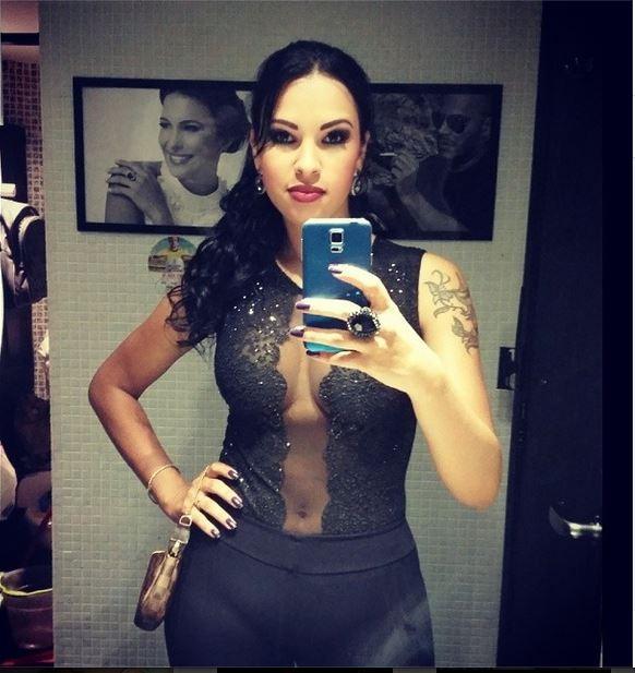 Ariadna posa em festa de amiga (Foto: Reprodução/Instagram)