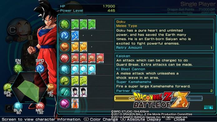 Cartas deixam os guerreiros Z mais poderosos e com habilidades especiais (Foto: Reprodução)