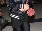 Lindsay Lohan embarca em Los Angeles rumo ao Brasil