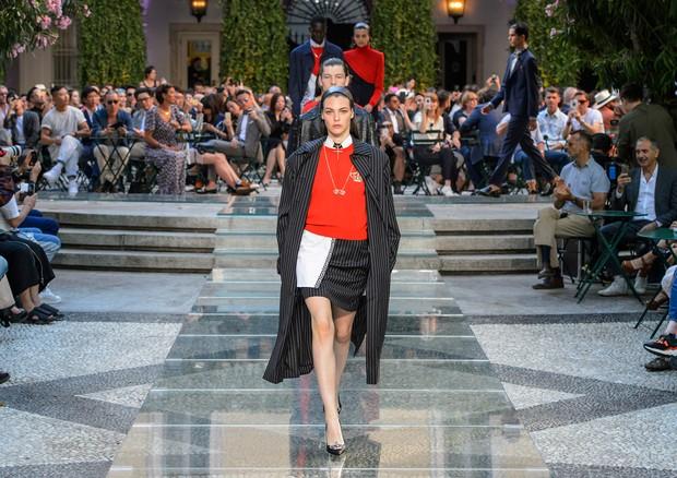 O desfile da Versace (Foto: ImaxTree)