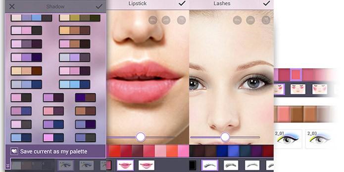 Dê retoques nas suas fotos com YouCam Makeup (Foto:Divulgação/AppStore)