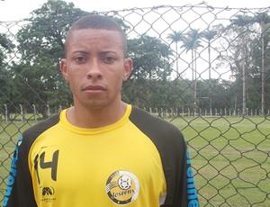 O lateral-direito Tamaré, de 21 anos, novo reforço do Joseense (Foto: Danilo Sardinha/Globoesporte.com)
