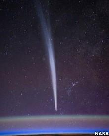 Posição do cometa pode fazer com que ele 'aponte' para a Terra como uma seta (Foto: Nasa)