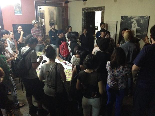 Grupo ocupa prédio do Iphan-MT contra fim do Ministério da Cultura (Foto: Divulgação)
