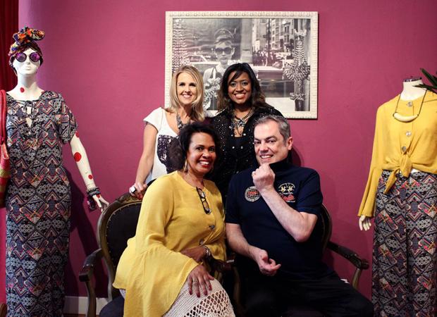 Cristiane Pereira, Carol Ghlória, Magah Emílio e Marco Antônio do Biaggi (Foto: divulgação)