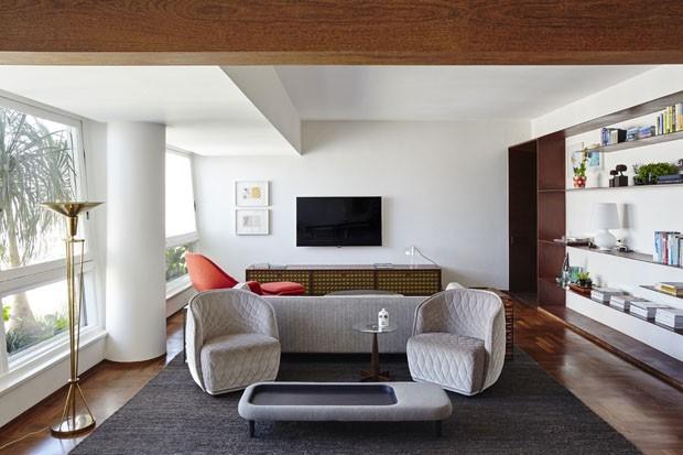 Reforma valoriza apartamento em prédio icônico de SP (Foto: Ilana Bessler)