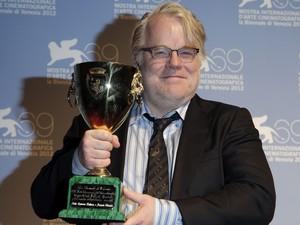 """Philip Seymour Hoffman é eleito o melhor ator do Festival de Cinema de Veneza em 2012 por sua atuação em """"O Mestre"""". (Foto: Tony Gentile/France Presse)"""