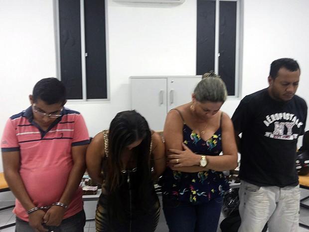 Em São Luís (MA), dois casais foram presos ao negociar crack (Foto: Divulgação / Polícia Civil)