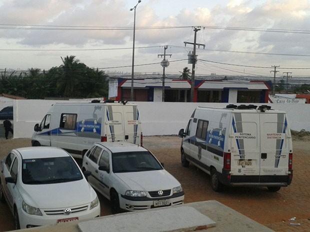 Transferências envolveram Cadeia Pública de Natal e CDP da Zona Norte (Foto: Anderson Barbosa/G1)