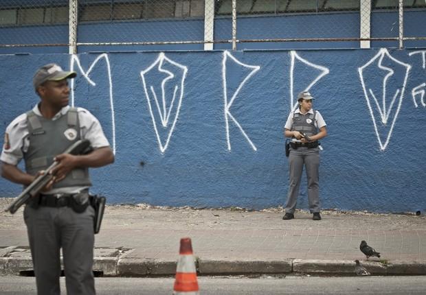 Polícia Militar de São Paulo (Foto: Marcelo Camargo/ABr)