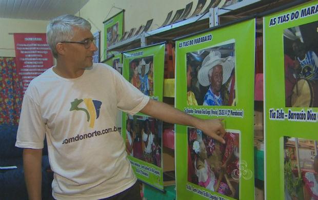 Exposição fotográfica (Foto: Reprodução/TV Amapá)