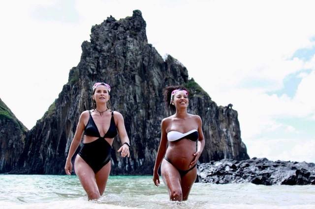 Juliana Sana e Sheron Menezzes (Foto: Thais Taverna)