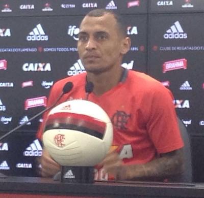 Alan Patrick Flamengo (Foto: Matheus Palmieri)