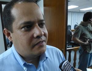 Enio Gaudino, representante do Treze-PB, STJD (Foto: Vicente Seda / Globoesporte.com)