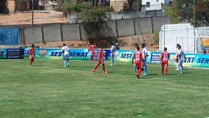Confronto contra os paulistas terminou com vitória santarena por 5 a 3 (Foto: Arquivo Pessoal/Rodolfo Sousa)