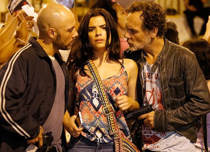 Tóia é sequestrada por facção (Foto: Fábio Rocha/Gshow)