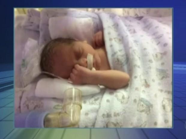 Davi Henrique nasceu no dia 15 de novembro (Foto: Arquivo Pessoal)