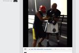 BLOG: Anderson Silva posta vídeo treinando com o filho