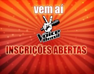 Inscrições abertas (Foto: The Voice Brasil/TV Globo)