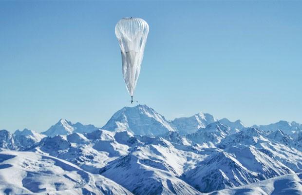 'Project Loon' navega por meio da estratosfera, onde existem diferentes camadas de vento (Foto: Divulgação)