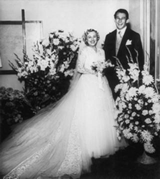 Casamento de Nicette Bruno e Paulo Goulart (Foto: Reprodução/Reprodução)