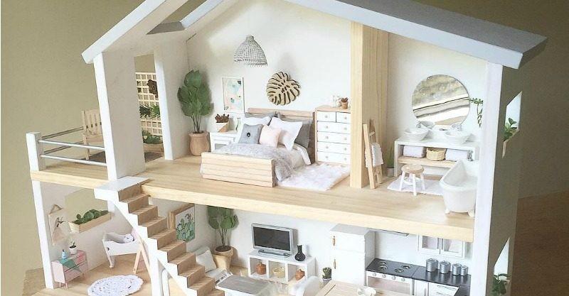 Mais estilosa do que uma casa real, não é mesmo?  (Foto: Reprodução Instagram @whimsy_woods)