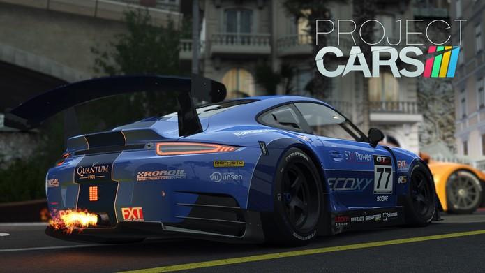 Project CARS é considerado um dos simuladores mais realistas já lançados (Divulgação/Namco Bandai)