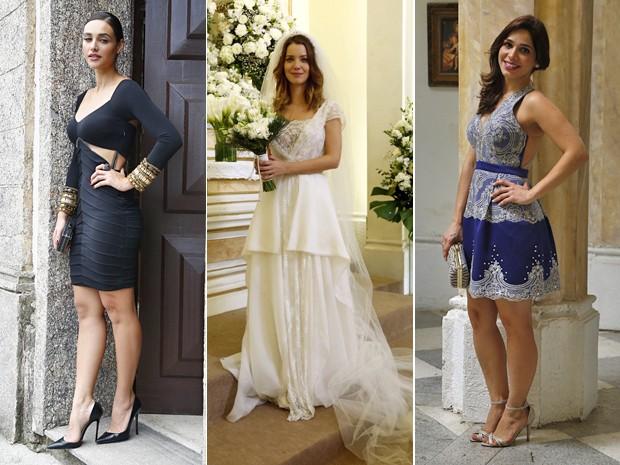 As mulheres de Nova Alvorada ficaram lindas nos seus respectivos looks (Foto: Raphael Dias / Gshow)