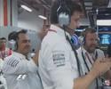 """""""Quase mijamos nas calças"""", diz Wolff, sobre pressão de Ricciardo em Nico"""