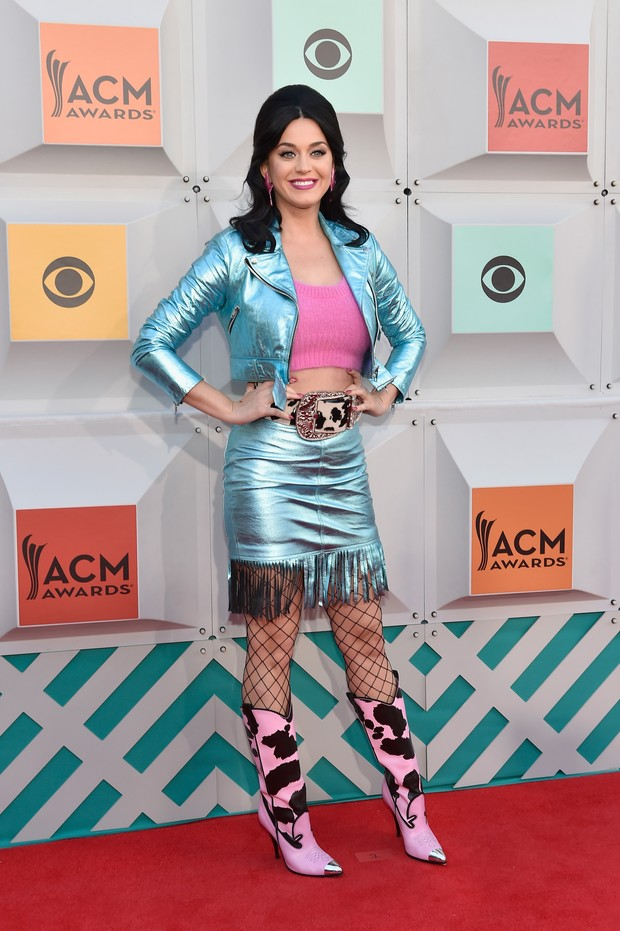 Katy Perry no ACM Awards (Foto: AFP)