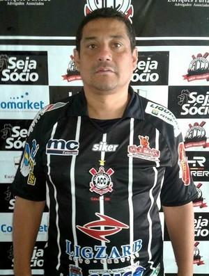 Rogério Oliveira - técnico - Corintians-RN - RN (Foto: Divulgação/Corintians-RN)