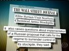 Síria espalha arsenal químico por dezenas de lugares, diz jornal