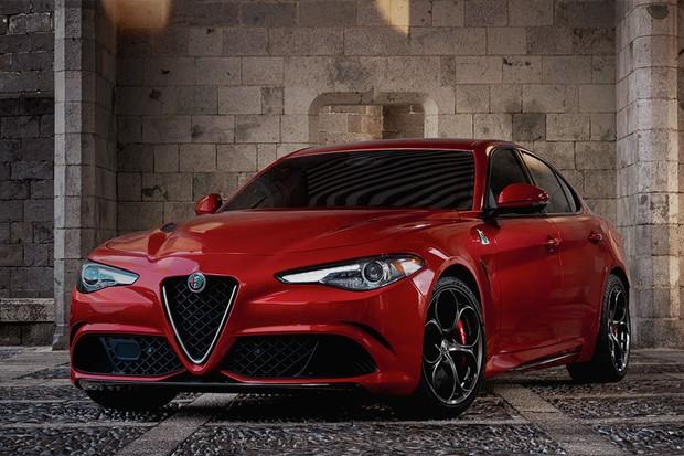 Alfa Romeo Giulia Quadrifaglio (Foto: Divulgação)