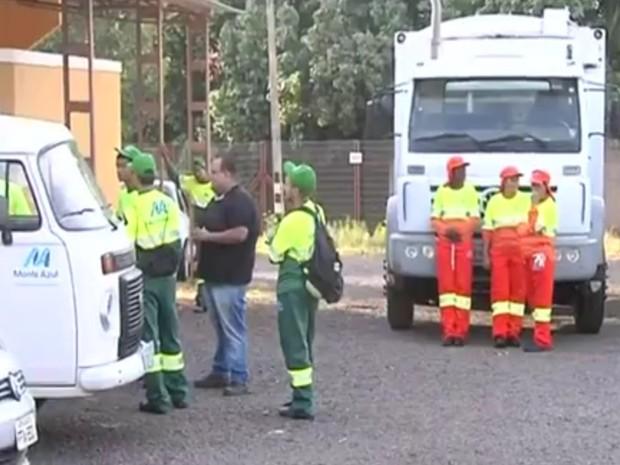 Empresa ficará responsável pela coleta de lixo no município. Rio Preto (Foto: Reprodução / TV TEM)