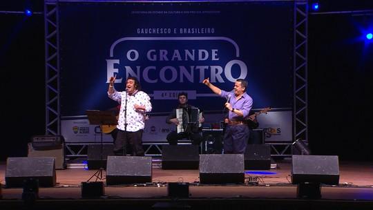 'Galpão Crioulo' exibe terceira parte do especial O Grande Encontro; reveja na íntegra