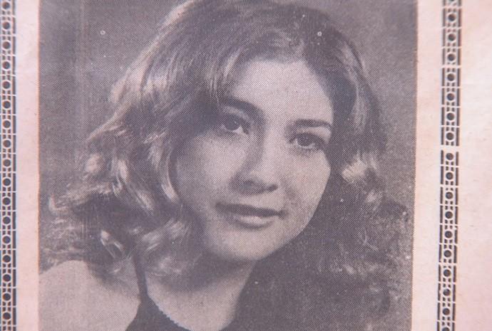 Ela começou a cantar logo quando criança, em festas de escola e igreja (Foto: Reprodução / TV TEM)