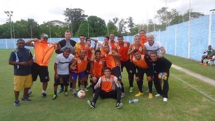 São Raimundo faz treino recreativo neste Sábado (24) (Foto: Arquivo pessoal/ Elailson Gomes )