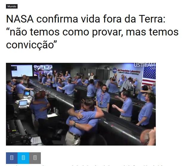 Site humorístico satiriza denúncia contra o ex-presidente Lula (Foto: Reprodução)