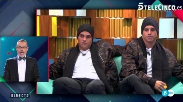 Antonio e Manoel no 'Gran Hermano' (Foto: Reprodução/Twitter)