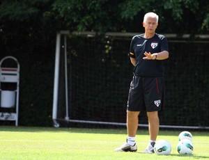 Emerson Leão, treino do São Paulo (Foto: Anderson Rodrigues/Globoesporte.com)