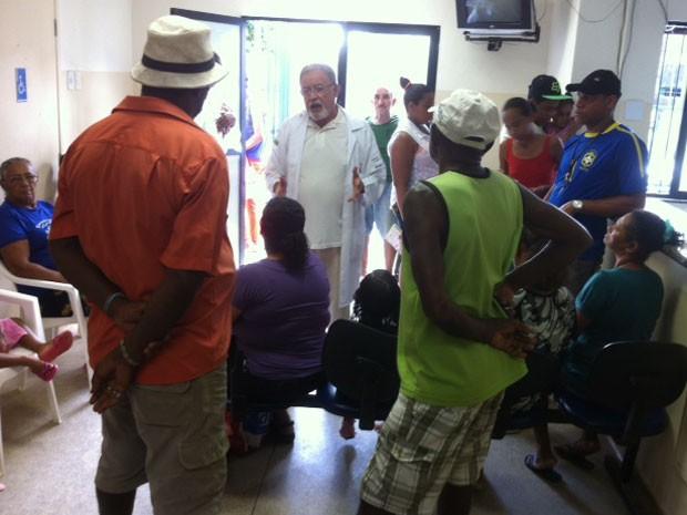 Raul Ramalho durante atendimento no Unidade de Saúde da Família (Foto: Raul Ramalho / Arquivo Pessoal)