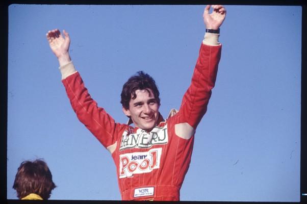 Ayrton Senna (Foto: Editora Globo)
