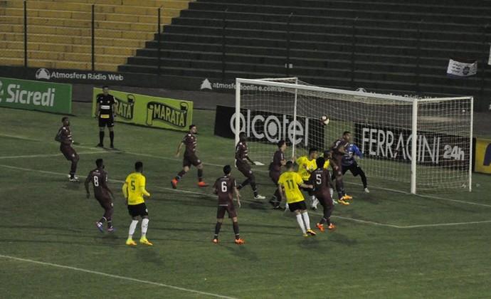 Ypiranga e Caxias jogam no estádio Colosso da Lagoa, em Erechim, pelo Gauchão 2017 (Foto: Ypiranga Futebol Clube / Reprodução / Facebook)