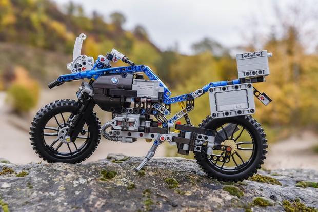 BMW R 1200 GS Adventure desenvolvida pela Lego (Foto: Divulgação)