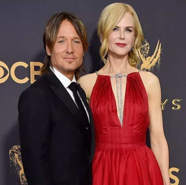 Nicole Kidman e Keith Urban estiveram presentes na cerimônia de premiação do Emmy (Foto: Getty Images)