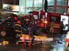 Acidente entre carro e caminhão deixa seis feridos em Botucatu