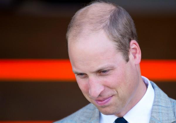 Príncipe William durante visita a centro psiquiátrico em Luton, Inglaterra (Foto: Getty Images)