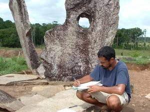 João Saldanha, pesquisador do Iepa (Foto: Mariana Cabral/Iepa)