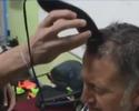Osorio perde aposta e tem o cabelo raspado por Chicharito Hernandez